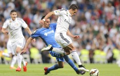 Real Madrid golea al Getafe; anota el �Chicharito�